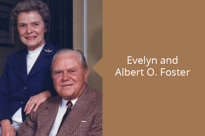 Evelyn and AO Foster